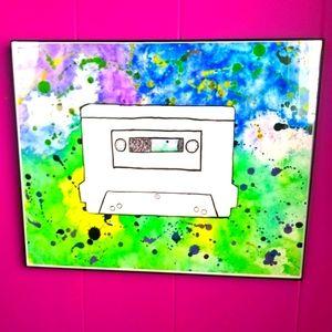 Original Artwork Cassette Tape